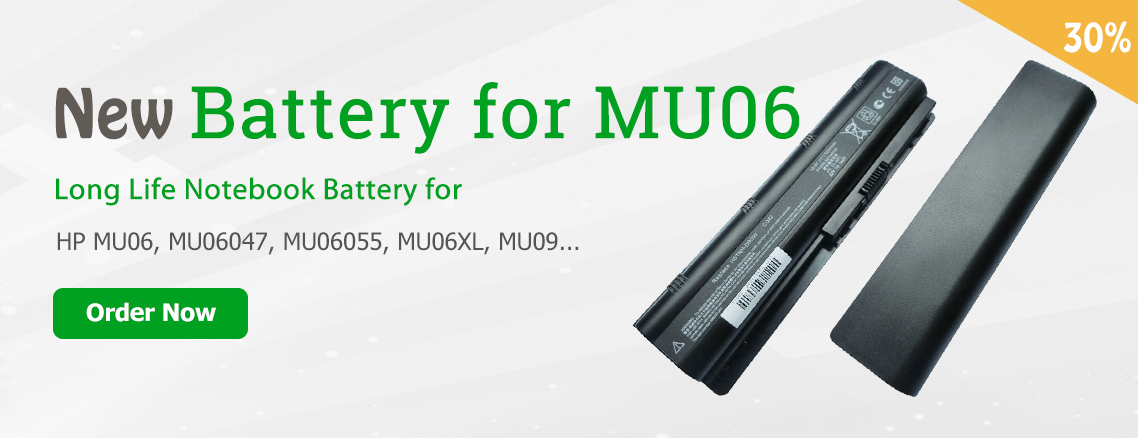 HP mu06 notebook battery replacement